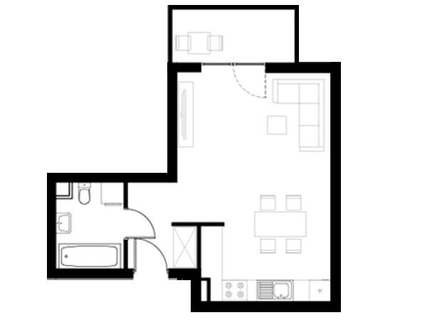 Zdjęcie główne mieszkania: L1