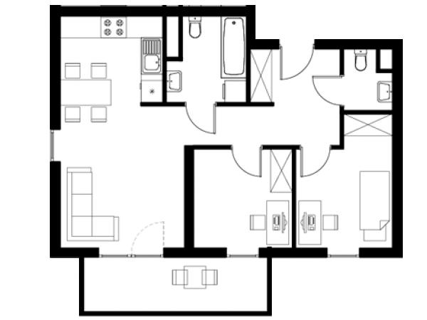 Zdjęcie główne mieszkania: L16