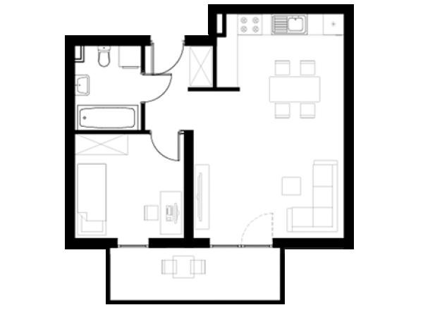 Zdjęcie główne mieszkania: L2