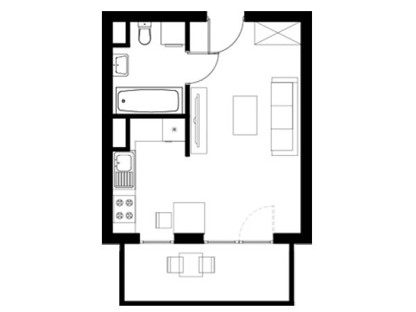 Zdjęcie główne mieszkania: L14