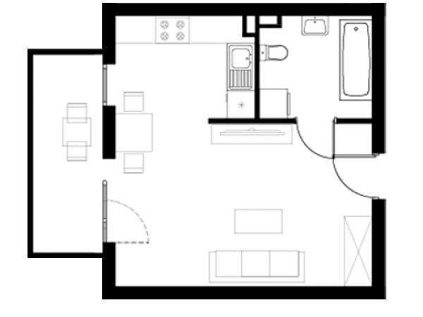 Zdjęcie główne mieszkania: L25