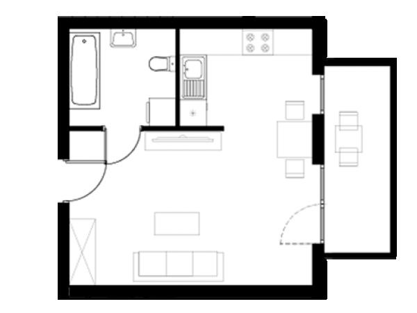 Zdjęcie główne mieszkania: L22