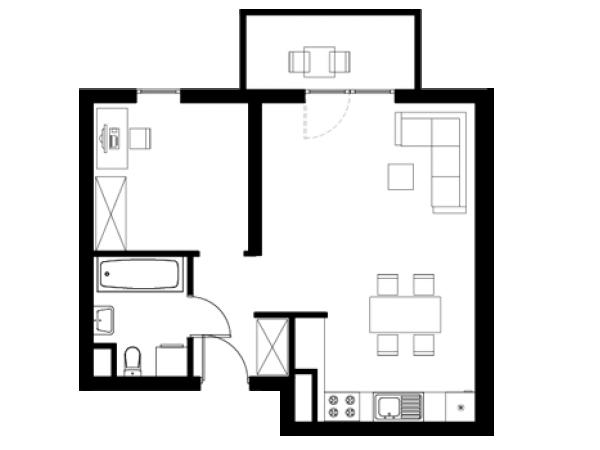 Zdjęcie główne mieszkania: L27