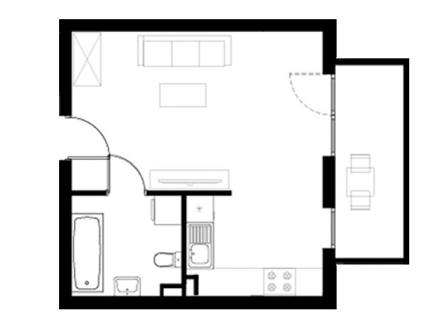Zdjęcie główne mieszkania: L21