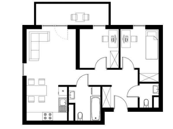 Zdjęcie główne mieszkania: L32