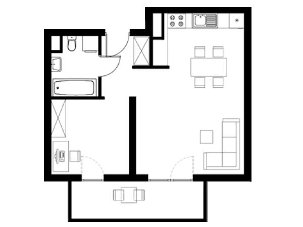 Zdjęcie główne mieszkania: L13