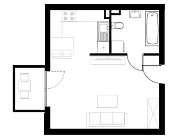Zdjęcie główne mieszkania: L26